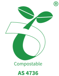 Meets AS4736 standard for compostability